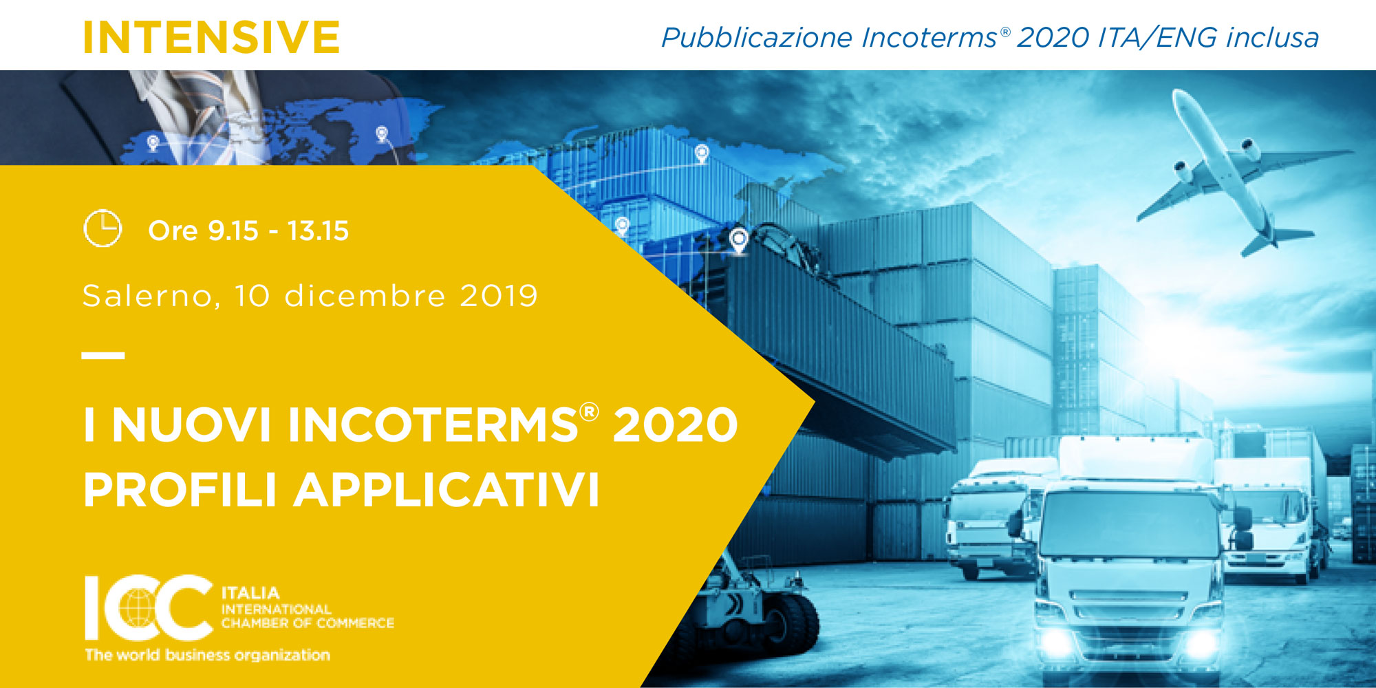I nuovi Incoterms® 2020 profili applicativi